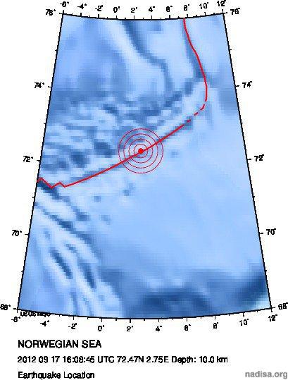 Норвежское море 4,3 (4,6?)+4,3 (полярный)