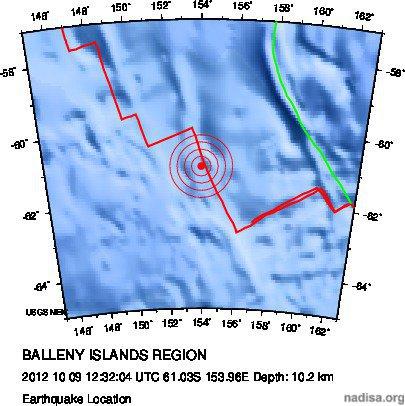 Острова Баллени - 6.4 (приполярный. юг)