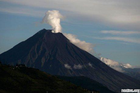 Вулкан Тунгурауа готовится к новому извержению
