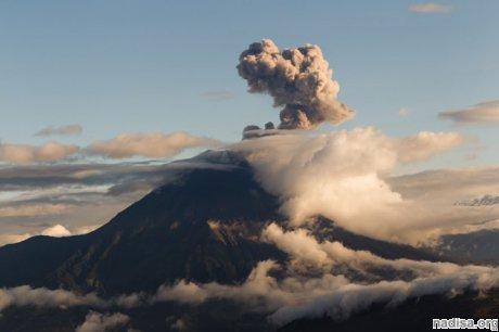 В Эквадоре проснулся вулкан Тунгурауа