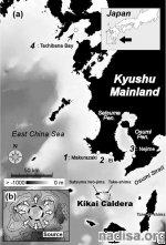 На японском вулкане Кикаи обнаружены признаки активности