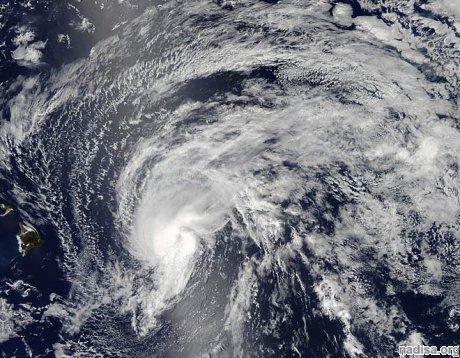 Тропический шторм «Флосси» пересечет Гавайские острова