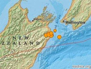 В Новой Зеландии сильное землетрясение, есть разрушения