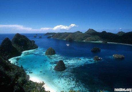 На острове Бугенвиль в южной части Тихого океана произошло землетрясение магнитудой 6,1