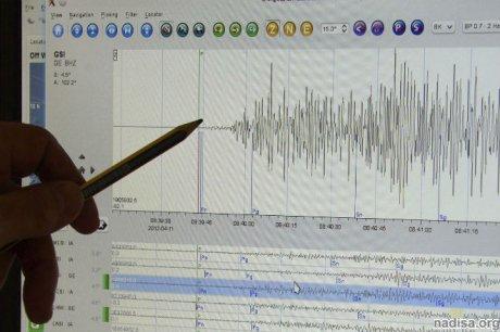 Сильное землетрясение произошло в Киргизии