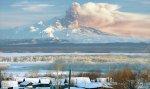Вулкан Шивелуч на Камчатке выбросил пепел на высоту 4 километра