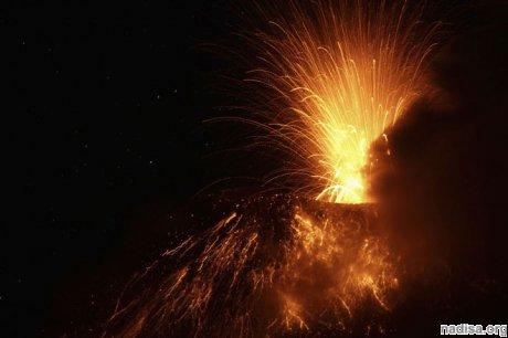 Вулкан Тунгурауа входит в новую фазу извержения