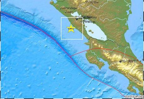 В Никарагуа произошло три землетрясения за день, есть разрушения