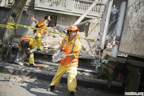 В Мексике произошло землетрясение магнитудой 7,2