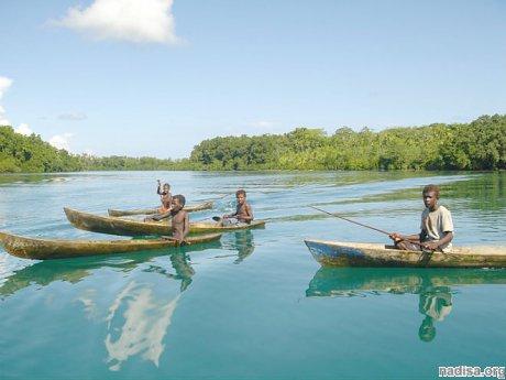Вблизи Соломоновых островов вновь зафиксированы мощные подземные толчки