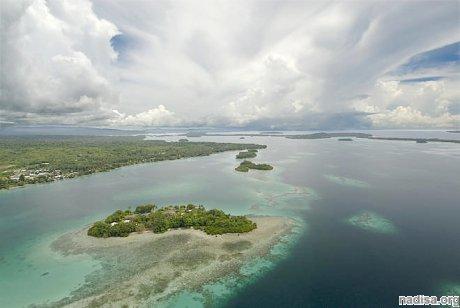 Возле острова Новая Каледония произошел мощный подземный катаклизм
