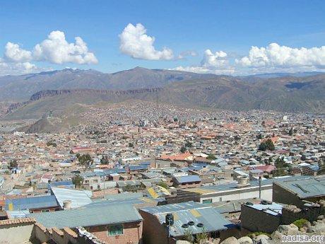 Землетрясение в Боливии