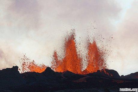 Активность вулкана Бардарбунга идет на спад