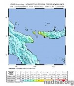 Very strong earthquake M6.6 hit Papua New Guinea