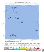 Very strong and deep M6.9 earthquake registered in Fiji region