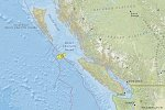 Earthquake swarm registered off the coast of B.C., Canada