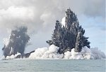 Large eruption of Tonga's active undersea volcano Hunga Tonga-Hunga Haʻapai