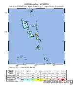 Strong and shallow M6.6 earthquake hit Vanuatu