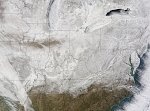 Arctic and Siberian air masses trigger hundreds of record lows in eastern US