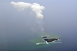 Nishino-shima has grown more than 11 times in size since eruption started, Japan