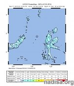 Strong M6.6 earthquake registered in Molucca Sea, Indonesia