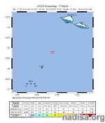 Strong and shallow M6.5 earthquake hits Tonga region