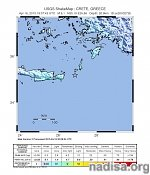 Strong and shallow M6.1 earthquake registered off the coast of Crete, Greece