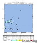Very strong and shallow M6.5 earthquake registered off the coast of Fiji