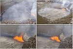 Lava lake rises at Hawaii's Kilauea volcano