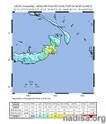 Very strong M7.1 earthquake hits Papua New Guinea