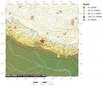Мощное землетрясение произошло в Непале