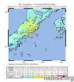 Very strong M6.8 earthquake hits off the coast of Alaska, US