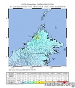 M6.2 earthquake hits Northern Borneo, Malaysia