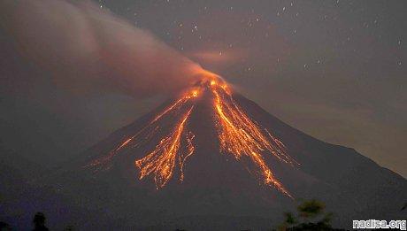 В Мексике проснулся вулкан Колима