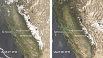 Sierra Nevada seasonal snowpack lowest in the last 500 years