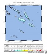 Strong M6.1 earthquake registered near the coast of Solomon Islands