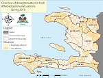 Prolonged drought prompts critical food insecurity alert, Haiti