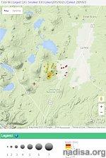 Swarm of earthquakes registered near central Oregon volcanic complex