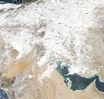 Seasonal low brings heavy floods to Iran, Iraq and parts of Saudi Arabia