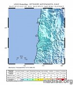 Shallow M6.2 earthquake hits near the coast of Antofagasta, Chile