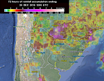 Worst flooding in the last 50 years hits Paraguay, Uruguay, Argentina and Brasil