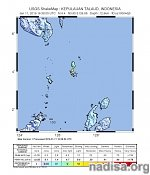 Very strong and shallow M6.8 earthquake hits Talaud Islands, Indonesia