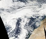 Hurricane «Alex» becomes the strongest January hurricane in Atlantic since records began in 1851