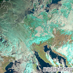 Europe wrapped in a snow blanket as winter finally sets in