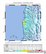 Strong and shallow M6.3 earthquake hit Chile