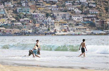 Серия землетрясений зафиксирована у берегов Чили