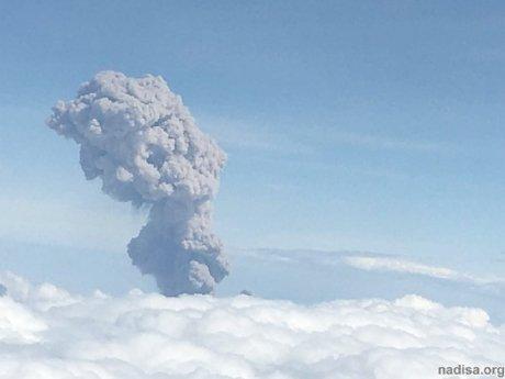 Чилийский вулкан посыпал пеплом населенные пункты