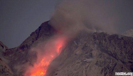 Извержение вулкана нарушило авиасообщение на Аляске