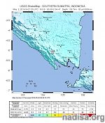 Strong M6.1 earthquake at intermediate depth hits southern Sumatra, Indonesia