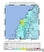 Very strong and shallow M6.8 earthquake hits Ecuador